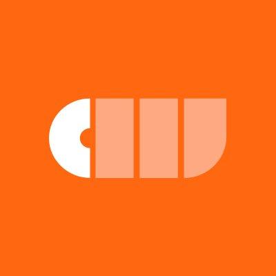 CurrencyWorks Logo white and orange