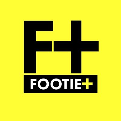 F+ in black on yellow