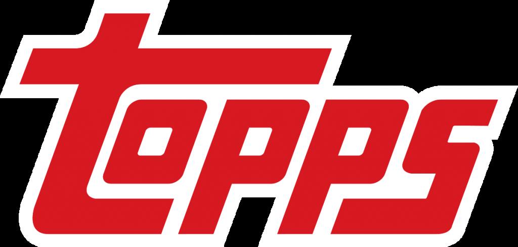 topps logo in red lettering