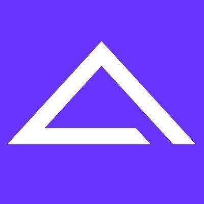 A-like triangle logo