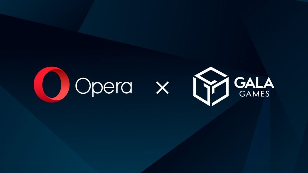 words opera and gala with company logos