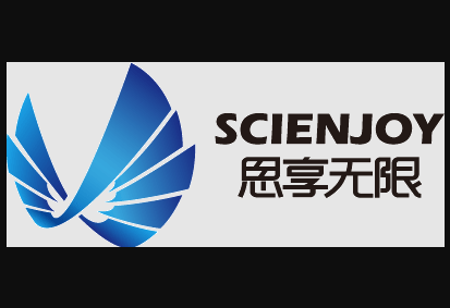 abstract image with scienjoy name