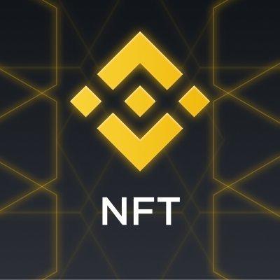 Binance Diamond-like Square logo above the word NFT