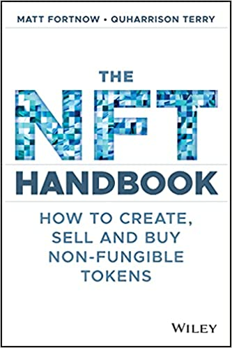 cover with The NFT Handbook title, Handbook in camouflage pattern