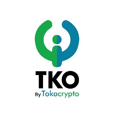 TKO logo with figure whose arms are like the letter U